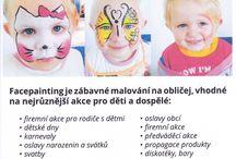 Malování na obličej Valašsko Facepainting