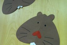 Ground Hog Unit Study / Learning activities and lesson ideas for a unit study for kids to study the rodent, the ground hog.