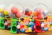 Anniversaire / Thème : bubble gum partie