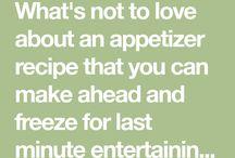 Make Ahead Appetizers