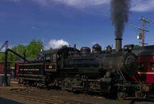 Romantic Trains
