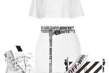 white off