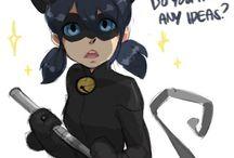 Miraculous Ladybug & Chat Noir / #MariChat