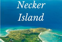 Necker Island - Private Island / Necker Island is a 74-acre island in the British Virgin Islands just north of Virgin Gorda. The island's land is entirely owned by Sir Richard Branson.