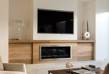 TV FIREPLACE WALL