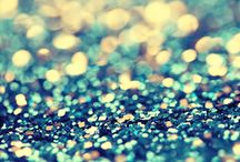 Glittery, Sparkling