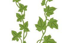 클립아트-식물