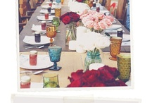 VINTAGE BOHO PARTY DECOR / Girls Brunch party with a vintage inspired design theme and vintage inspired tablescape.