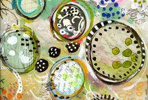 Art journaling inspiration / Art Journaling and Mixed Media Inspiration