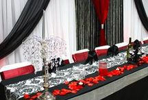 Luxury Red & Black decoration