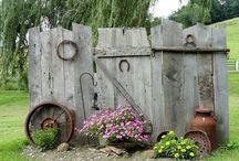 gard lemn