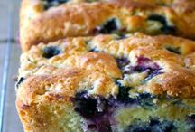 Blueberry and cream cheese bread