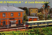 Stazione di Parghelia / Alcuni scatti del Plastico Sociale - Stazione di Parghelia - autore Luca Berardocco  : http://stazioneparghelia.blogspot.it/