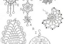 My patterns and my lovely Crochet lace !!!