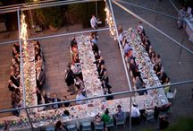 Room Designs / Table layout can be important and innovative ways of presenting venues is always inspiring...