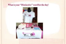 Your Word for the day / A photo of a Distinctive Women Display