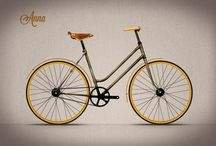 """LAMILLA CYCLES / Pedaling to save the world!!! Recycling, sustainability and a special attention to small aesthetic details were the pincipal values for developing the proyect """"Lamilla Cycles""""."""