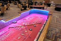 New Standard Casino Table Rentals / We have upgraded our standard casino table rentals.  We can customize these with different colors and prints