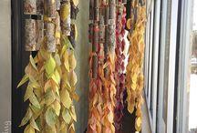 Autumn shop window