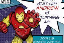 Iron man birthday