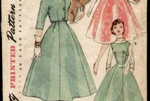 Vintage dress patterns / by iddle duck