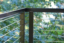 My Favorite Deck Railing Ideas / These are my favorite deck railing ideas.  Follow this board I try to update my accounts weekly!  / by Stainless Cable & Railing