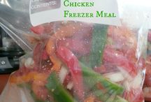Freezer Meal / by Ginny Mertes