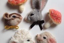 羊毛フェルト handmade