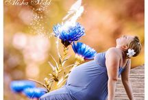Maternity Photography Photoshop Templates