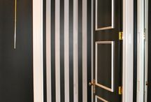 Love Black & White Strips / I'm Obsessed with Black and White Stripes.