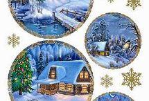 Vintage - vánoce