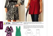 Funky Dressmaking for Divas! / Dressmaking patterns, fabrics, and inspiration for curvy girls who love bright colours and BIG patterns
