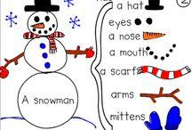 Kindergarten Wintertime