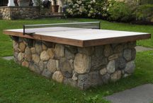 Concrete table tennis tabke