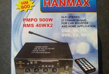 AMPLIFIER USB MP3 Hanmax DC12V