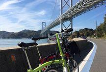 自転車のある風景。