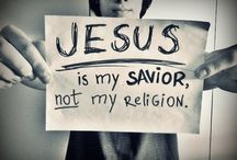 He is my savior! / by Christina Martin