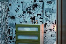 Manga wall decor