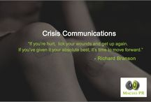 Crisis Communications / Inspirational quotes from famous people when it comes to handling negative news.