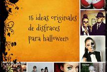 Manualidades para Halloween / Manualidades, disfraces, y comida para Halloween y dìa de muertos.