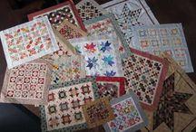 mini quilts..