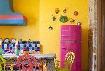 Hanımlarının Yeni Gözdesi Renkli Mutfaklar / Hanımlarının Yeni Gözdesi Renkli Mutfaklar http://www.dekordiyon.com/hanimlarinin-yeni-gozdesi-renkli-mutfaklar/