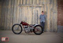 Bikershootings / Fotografien von Bibern und Bikes, Biker Lifestyle