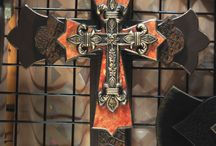 CrOsSeS for my cross wall.  / need to more ideas to add to my cross wall.