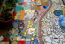 ground / floor mosaics inspirations