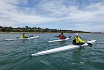 Learn to Surf Ski and Ocean Kayak