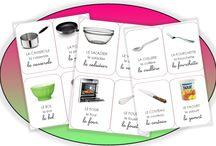 cartes de cuisine