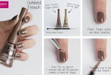 Tutos Nail Art / #nailart #1Seconde