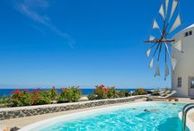 Lilac Windmill Villa / | WINDMILL VILLAS | Luxury Boutique Villas and Suites in Santorini