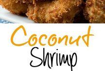 coconut shrimp fry